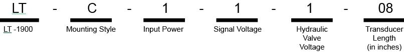 Model LT Ordering Procedure